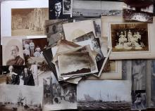 Mixed Photographs C1870-1960 Lot of approx 55