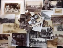 UK C1870-1910 Lot of 40 Photographs, mostly Albumen Prints