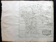 Essex - Bowen, Thomas & Emanuel 1768 Map of Clavering Uttlesford and Freshwell from Morant's Essex