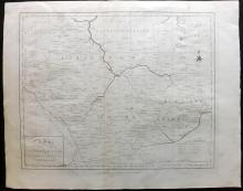 Harrison (Pub) 1789 Map of Leicester & Rutland