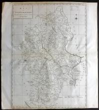 Harrison (Pub) 1789 Map of Staffordshire