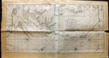 Jaillot, Alexis-Hubert 1693 Large Map of the Thames Estuary. Kent Essex