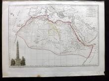 Malte-Brun, Conrad 1812 Map of Ancient Africa