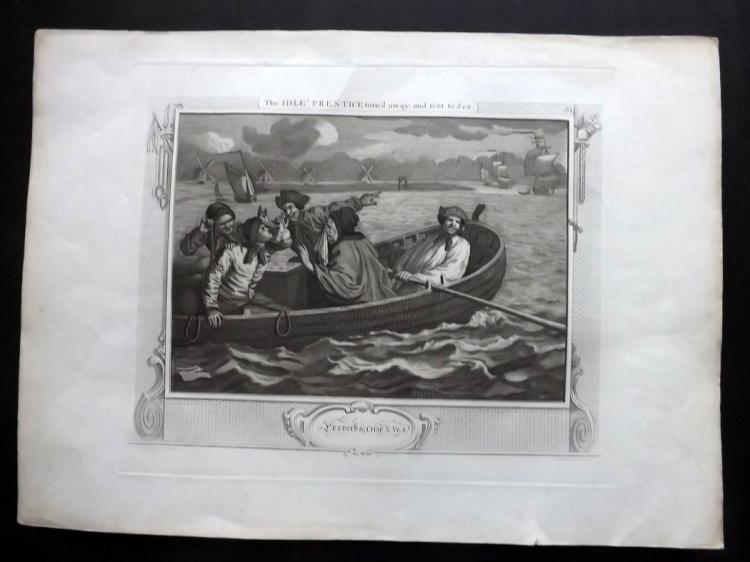 Satire 1822-C1860 Group of 3 Prints, Hogarth etc