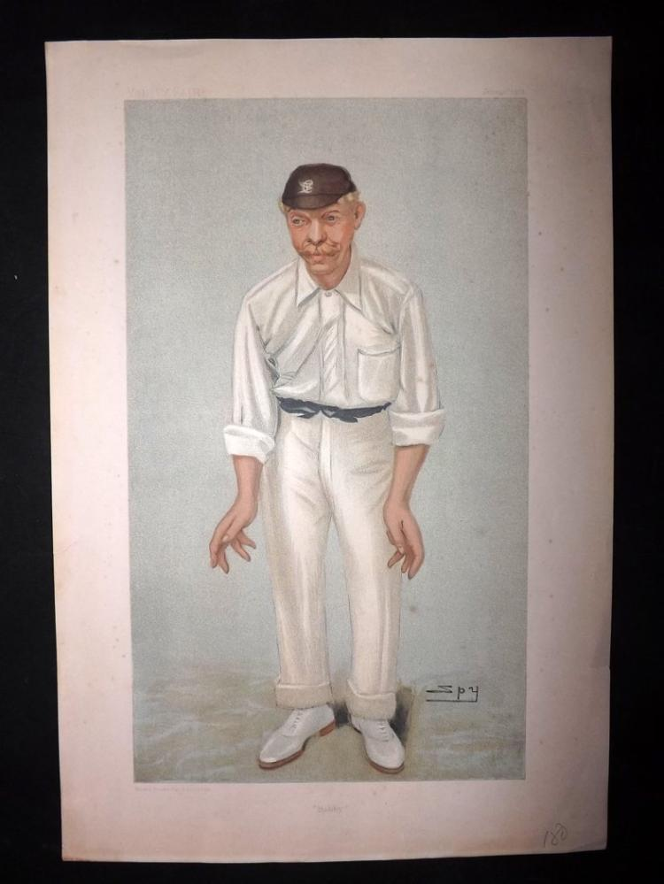 Vanity Fair Print - Cricket 1902 Bobby Abel