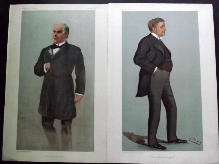 Vanity Fair Prints (3) Americans 1872-99 Group of 3