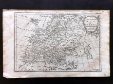 Rollos, George 1766 Antique Map of Europe