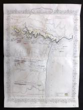Tallis (Pub) 1858 Map of Plan of the Battle of Alma. Crimea