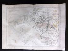 Tallis (Pub) 1858 Map of Sebastopol. Crimea Ukraine