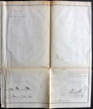 U.S. Coast Survey Map 1853 Map of Sow and Pigs Reef, Massachusetts