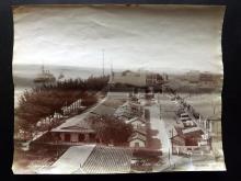 Photograph - Egypt C1880 Albumen Print. Port near Suez by Zangaki