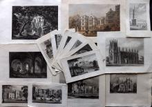 Yorkshire 19th Century Lot of 21 Engravings