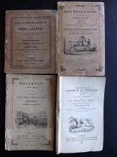 Cruikshank, George & Robert (Illus.) - Group of 4 first Editions in original wraps, 1828-31, Plates