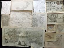 Maps C1600-1900 Mixed Lot of 31 Maps