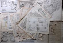 Maps 18th-19th Century. Mixed Lot of 45