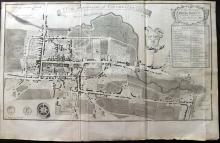 Essex - Colchester 1768 Map From Morant's Essex