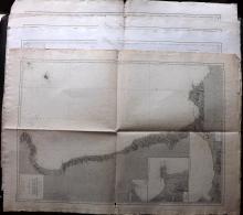 Depot de la Marine 1881-93 Group of 4 Nautical Charts of Italy