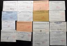Share Certificates etc C1930's-60's Lot of approx 50. UK & Canada