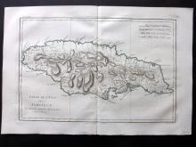 Bonne, Rigobert C1780 Map of Jamaica