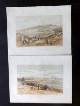 Roberts, David (3rd Edition) 1887 Group of 4 Holy Land Prints. Lebanon
