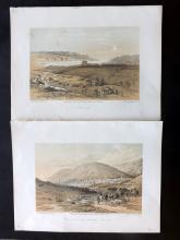 Roberts, David (3rd Edition) 1887 Group of 4 Holy Land Prints. Palestine