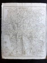 Cary, John 1806 Large Map of Shropshire from Camden's Britannia