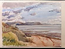 Burley, David William (1901-1990) 1949 Watercolour. Lyme Regis, Dorset