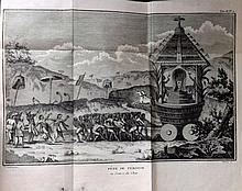 Sonnerat, Pierre - Voyage aux Indes orientales et à la Chine, 3 Vols, Fine Binding, 7 Plates, 1782