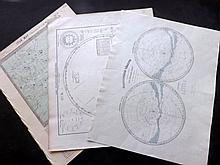 Celestial/Astronomy 19th Century. Lot 8 Maps/Charts
