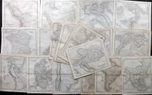 Dower, John C1836 Lot of 20 Maps