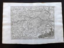 Le Rouge, George Louis 1748 Map of Austria