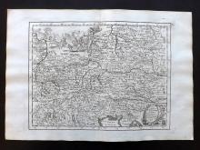 Le Rouge, George Louis 1748 Map of Austria.