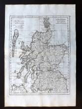 Le Rouge, George Louis 1748 Map of Scotland