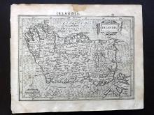Mercator, Gerard & Hondius, Jodocus 1610 Map of Ireland