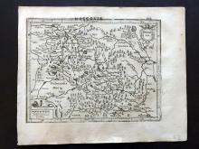 Mercator, Gerard & Hondius, Jodocus 1610 Map of West Russia, Moscovia