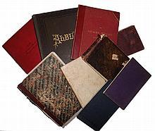 Manuscript Marine Logs, Account of Expenses, Sketch Books, 9 Items