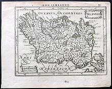 Jansson, Jan C1631 Map of Ireland