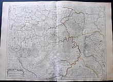 de l'Isle, Guillaume 1731 - 2 Sheet Map. Carte de Moscovie, Russia
