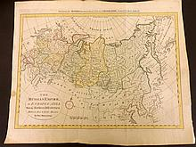 Bowen, Thomas C1790 Map of the Russian Empire