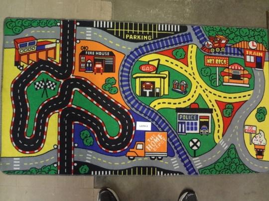 Home Depot play rug, 37
