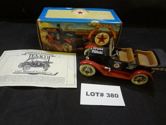 Texaco 1917 Maxwell Touring car bank, die cast, by Ertl