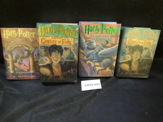 Four Harry Potter books