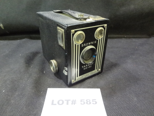 Vintage Kodak Target Six-20 camera, shutter works, 1940's