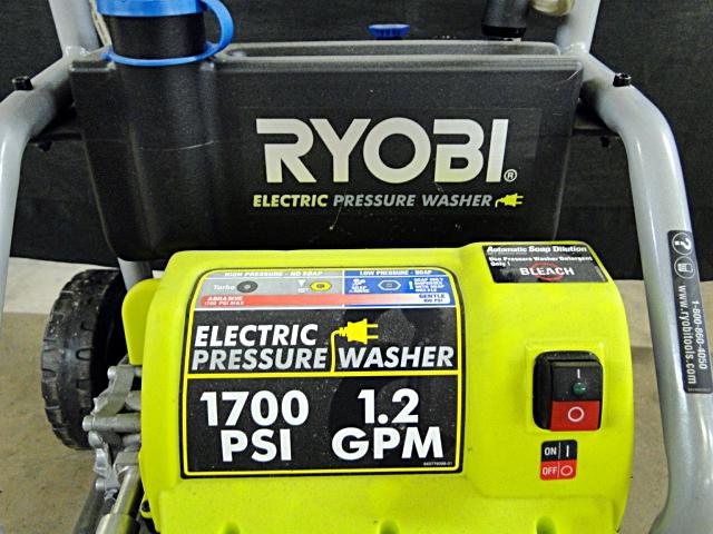 ryobi electric pressure washer manual
