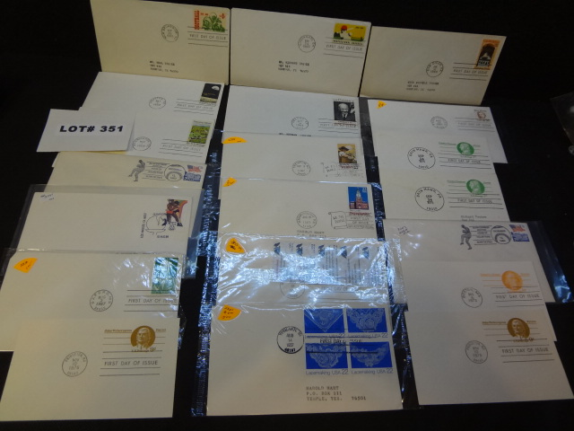 Fifty eight first day covers and misc postal items