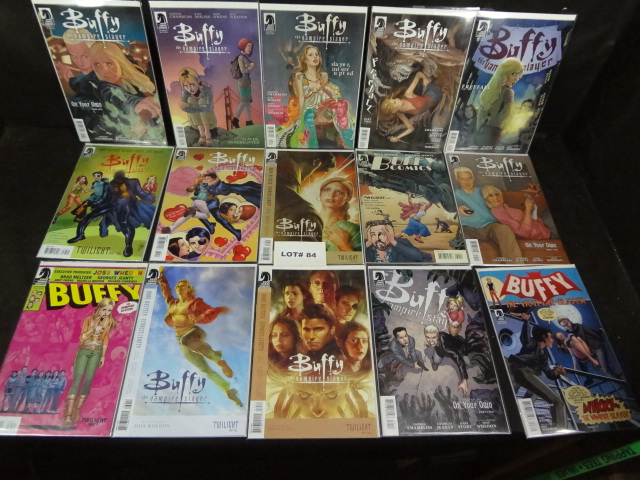 Fifteen Buffy The Vampire Slayer comics, all near mint, various titles