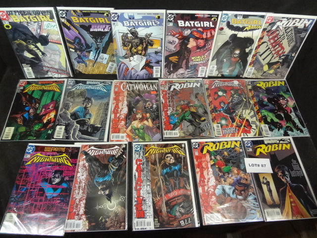 Seventeen comics, all near mint, various titles