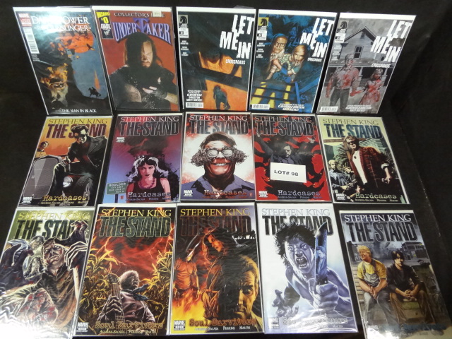 Fifteen comics, all near mint, various titles