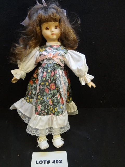 Nice porcelain doll, 16