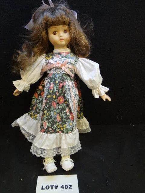 Nice porcelain doll, 16